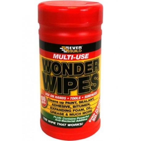 Everbuild Wonder Wipes Tub - Multi Use