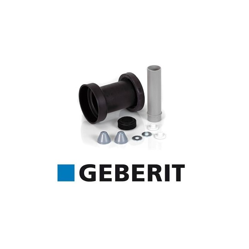 Geberit pipe connection set for wc frames for Geberit drains