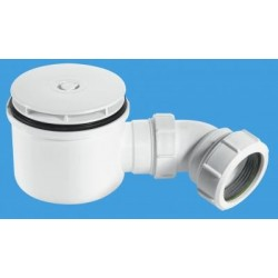 "McAlpine 2"" 90mm Hi-Flow Shower Trap ST90WH10-HP"
