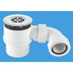 McAlpine 50mm Shower Trap with Universal Outlet STW8B-95