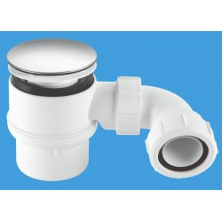 McAlpine 50mm Shower Trap with Universal Outlet STW8M-95