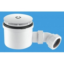"McAlpine 1 1/2"" 90mm Hi-Flow Shower Trap ST90CB10-HP2"