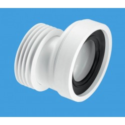 McAlpine 20mm Offset Rigid WC Connector WCCON4