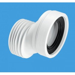 McAlpine 40mm Offset Rigid WC Connector WCCON4A
