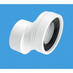 McAlpine 40mm Offset Rigid WC Connector WCCON4B