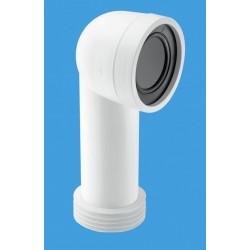 McAlpine 90 Degree Bend Adjustable Length Rigid WC Connector WCCON8