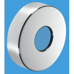 McAlpine 32mm (Euro) Chrome Plated Wall Flange MCALPINE-WALLFLANGE-CP32