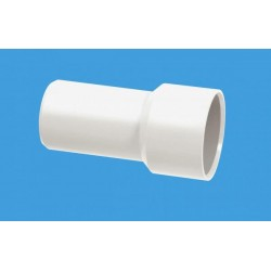 "McAlpine 35mm-1.25"" Solvent Weld Adaptor For Chrome Waste Fittings MCALPINE-ABSCON-35X1.25"