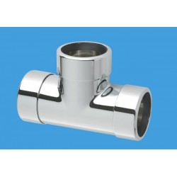 McAlpine 42mm Chrome Plated Tee MCALPINE-42E-CB