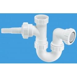 McAlpine Sink Trap with Horizontal Nozzle MCALPINE-WM2