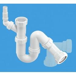 McAlpine All One Sink Trap with 135 Degree Swivel Nozzle MCALPINE-WM12