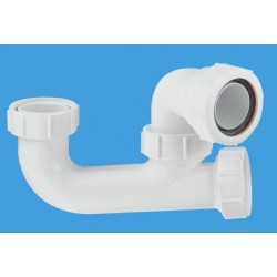 McAlpine 50mm Seal Bath Trap with Cleaning Eye SM10