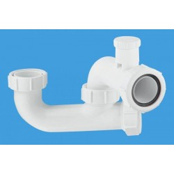 McAlpine 50mm Seal Anti-Syphon Bath Trap with Cleaning Eye SM10V