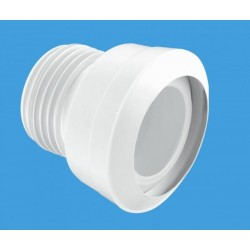 McAlpine Straight MACFIT WC Connector 75mm Outlet MAC3C