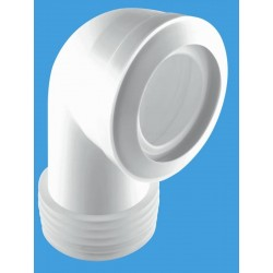 McAlpine 90 Degree Bend Standard MACFIT WC Connector MAC8