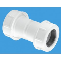 McAlpine Straight Overflow Connector 19/23mm Universal R1M