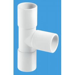 "McAlpine Overflow Tee 3/4"" Pushfit R3"