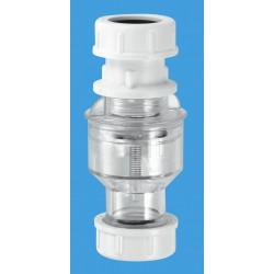 McAlpine Tunvalve  Straight Through (Clear) TUN5CL