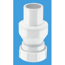 "McAlpine 1/4"" In-Line Non-Return Valve with Plain Tail CONVALVE125P"
