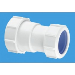 """McAlpine 1 1/4"""" x 40mm Multifit Straight Connector - Multifit x European Pipe Size ST28LISO"""
