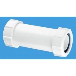 "McAlpine 2"" Multifit Adjustable Straight Connector MZ18E"