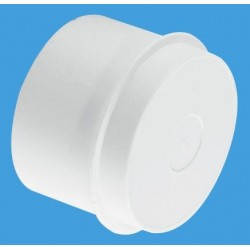 "McAlpine 1 1/4"" Multifit Blank Cap Without Nut S23M"