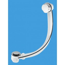 McAlpine Pop-Up Bath Waste and Overflow CP Brass PUBCPB