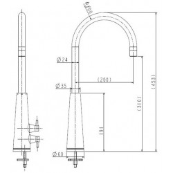 Livaro Sink Mixer LV182