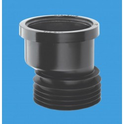 McAlpine Offset Drain Connector Black DC1BLOS
