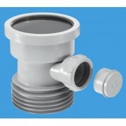 McAlpine Drain Connector with Boss Grey DC1GRBO