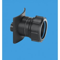 McAlpine Two Piece Cast Iron Soil Pipe Boss Connector BOSS90TCASTBL