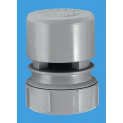 "McAlpine Ventapipe 25 with 1 1/2"" Universal Outlet (Grey) VP2"