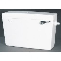 Macdee Elan Exposed Cistern Side Entry High Level Cord and Pull CFE02WH