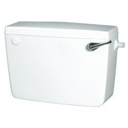 Macdee Concord Exposed Cistern Bottom Entry with Chrome Lever CCD51WH