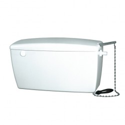 Macdee Rhino Heavy Duty Exposed Cistern Side Entry with Chrome Lever CCR41WH