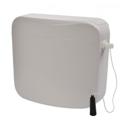 Macdee London Exposed Cistern with Single Flush and Push Lever 50120150