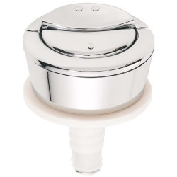 Macdee Dual flush chrome push button 19008001