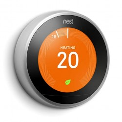 Nest Thermostat 3rd Generation Steel T3028GB