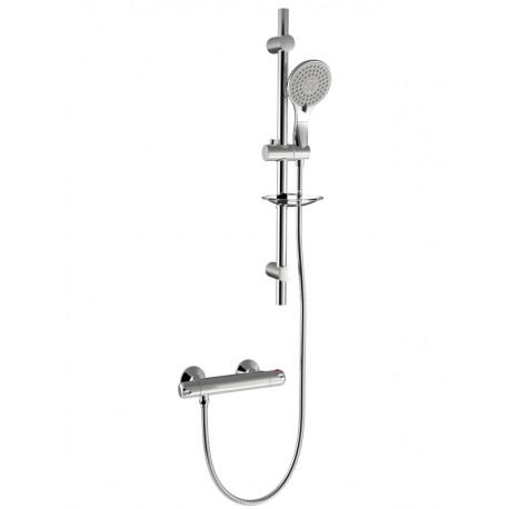 Ideal Narva Thermostatic Bar Shower & Kit