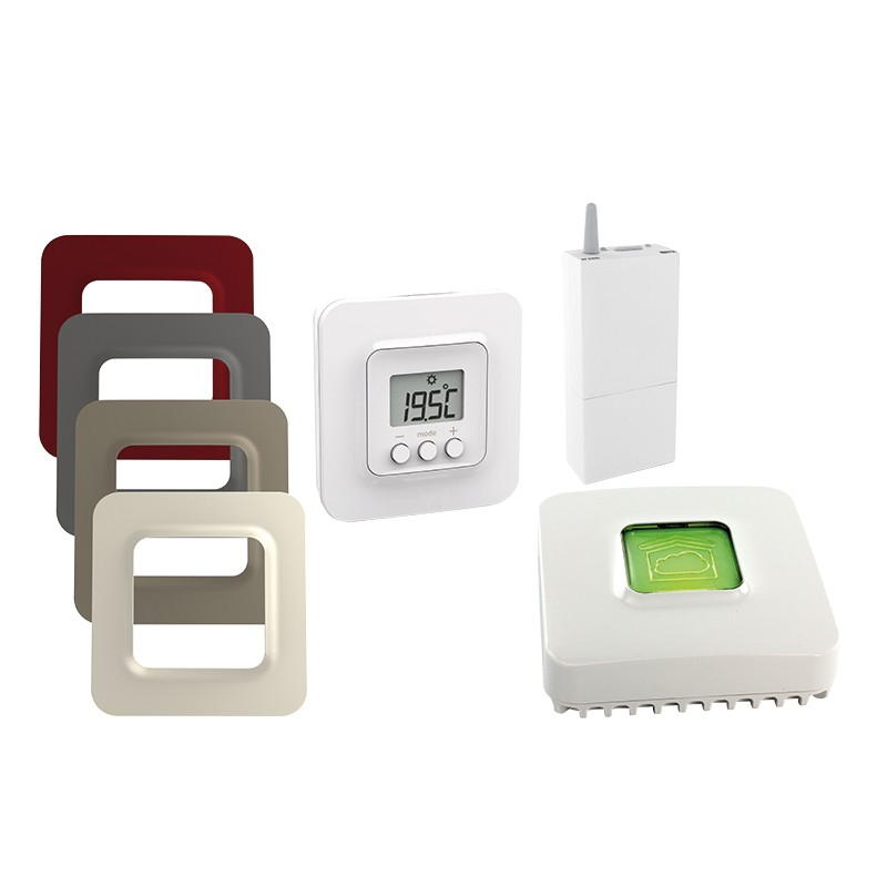 delta dore 5100 connected pack rf thermostat. Black Bedroom Furniture Sets. Home Design Ideas