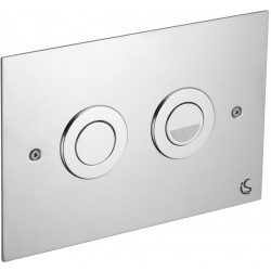 Ideal VV639866 Trend Flush Plate Satin Chrome