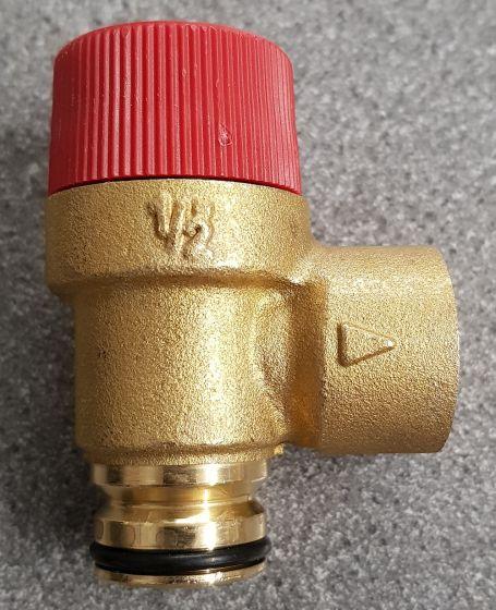 """1/2"""" 3 Bar Push Fit Pressure Relief Valve"""