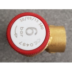 "1/2"" 6 Bar Push Fit Pressure Relief Valve"