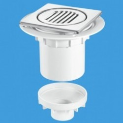 Vertical Outlet Shower Gully Trap TSG2-T150SS