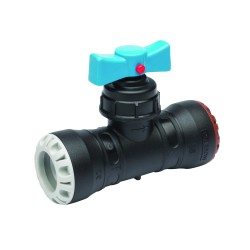 Plasson Pushfit Stop Tap (PP) 32mm x 32mm