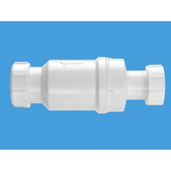 "Macvalve 1.25"" 32mm Self Closing Waste Valve"