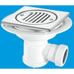 McAlpine Horizontal Shower Gully 19mm Seal