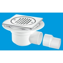 McAlpine Horizontal Shower Gully 50mm Seal