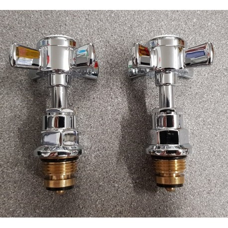 Beaumont Tap Head & Valves Set