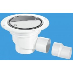 McAlpine Horizontal Shower Gully 75mm Seal TSG1SS